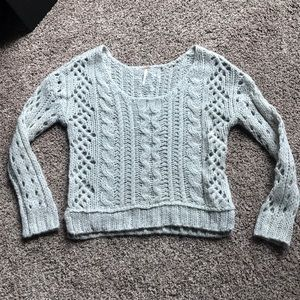 Free People off the shoulder sweater - sz. Small